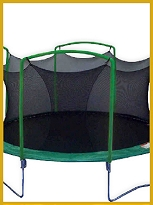 14� Backyard Trampoline with Enclosure