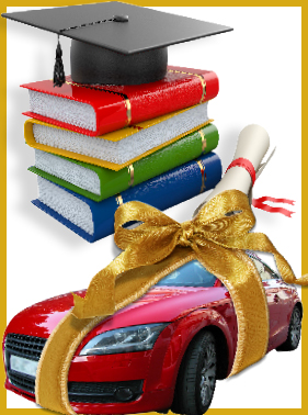 $10,000 Tuition Break ANYWHEREORCar Lease of Your Choice